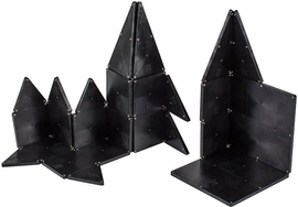 Magna-Tiles Black Color, 32 Piece Set