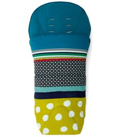 Mamas & Papas All Seasons Footmuff - Carousel Lime