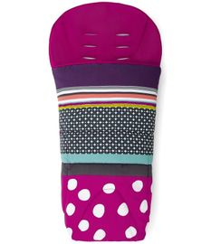 Mamas & Papas All Seasons Footmuff - Carousel Pink - D
