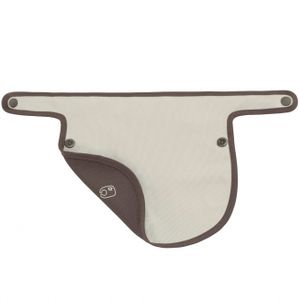Mamas & Papas Baby Carrier Bibs 2 Pack - Dove Grey