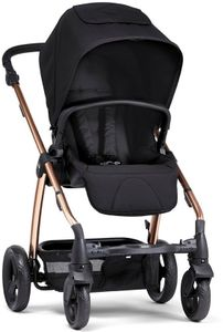 Mamas & Papas Sola 2 Chrome Stroller - Black/Rose Gold
