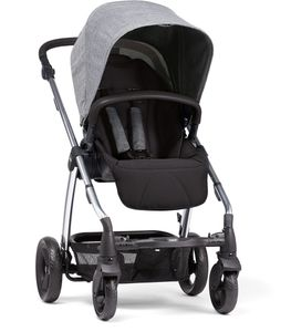 Mamas & Papas Sola 2 Chrome Stroller - Grey Marl