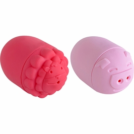 Marcus & Marcus Silicone Bath Toys 2 Pack, Lion & Piglet