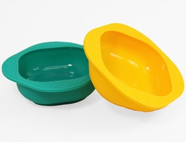 Marcus & Marcus Silicone Bowls, 2-Pack - Ollie the Elephant & Lola the Giraffe