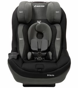 Maxi Cosi Pria 70 Convertible Car Seat With Tiny Fit - Total Black