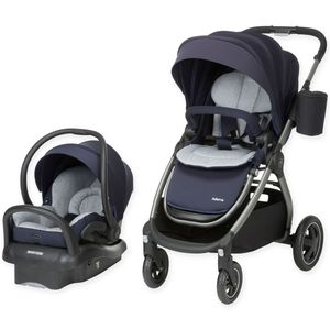 Maxi-Cosi Adorra Travel System - Charcoal/Brilliant Blue