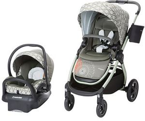 Maxi-Cosi Adorra Travel System - Graphic Flower
