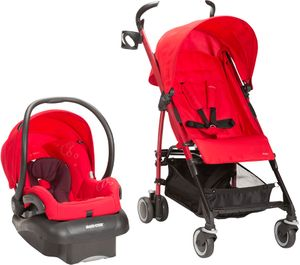Maxi-Cosi Kaia & Mico Nxt Travel System - Intense Red