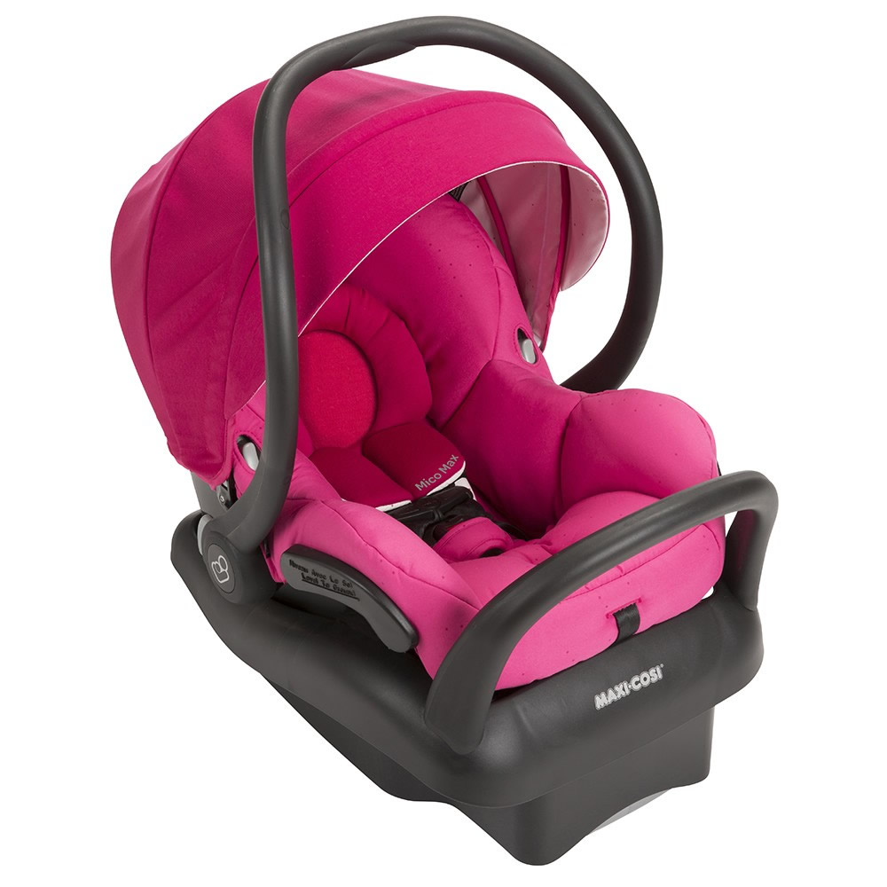Maxi Cosi Mico Max 30 Infant Car Seat Pink Berry Sugar Baby Blue Item Ic160dcn