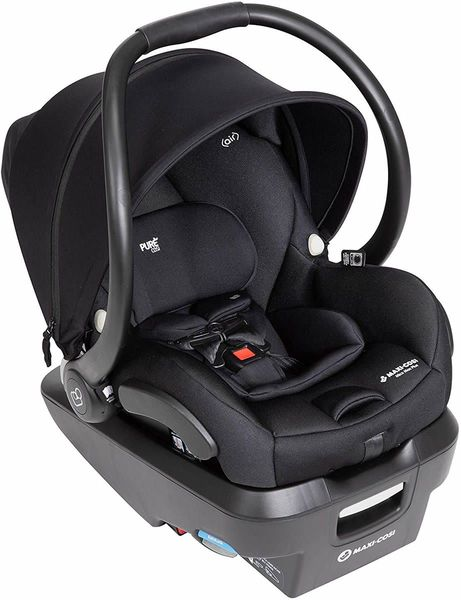 Maxi-Cosi Mico Max Plus Infant Car Seat - Onyx Bliss (Chem Free)