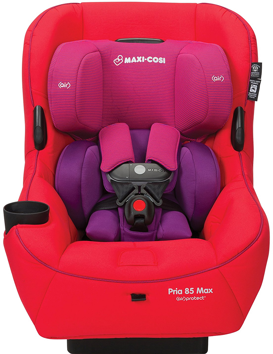 MAXI-COSI Pria 85 Max Convertible Car Seat - Red Orchid