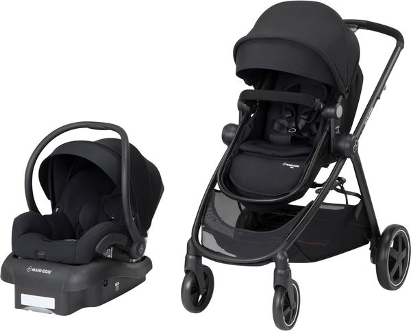 Maxi-Cosi Zelia Travel System - Night Black
