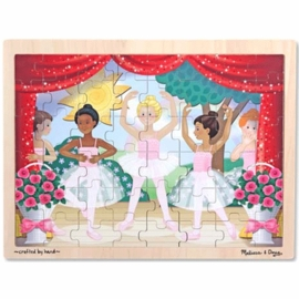 Melissa & Doug Ballet Performance Wooden Jigsaw Puzzle-48 Piece