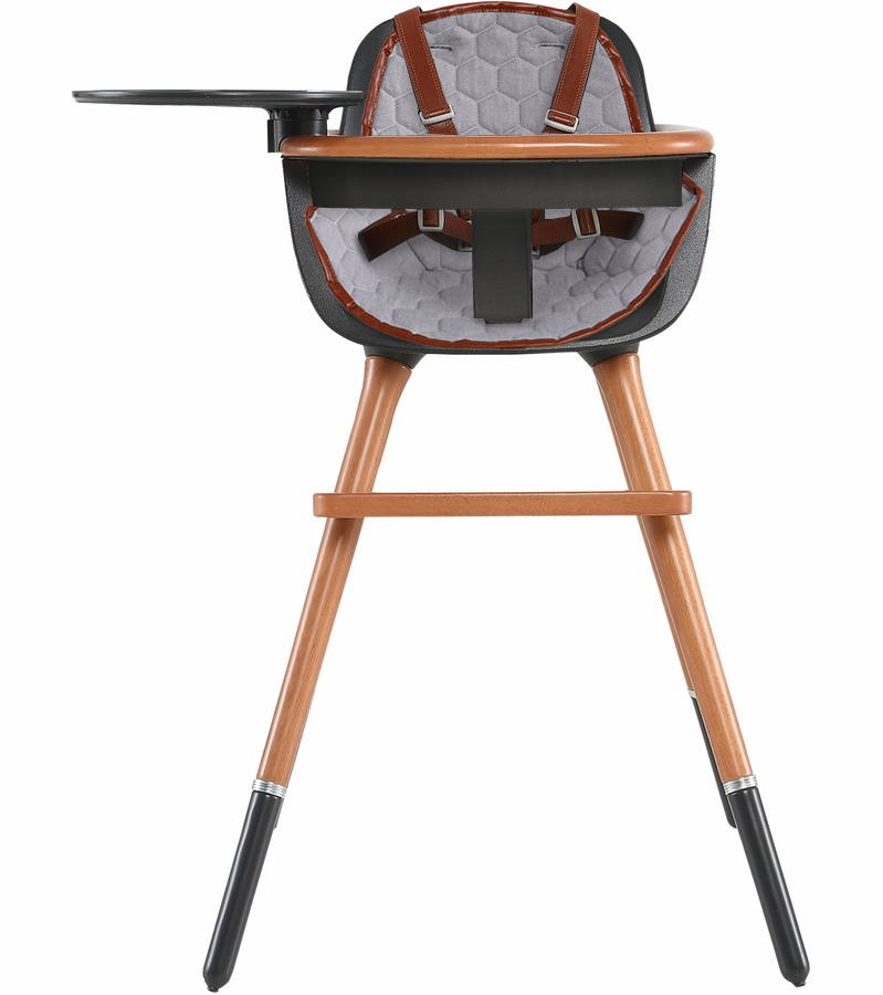 Micuna Ovo City Max Luxe High Chair Black Honey Albee