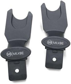 Milkbe Car Seat Adapter for Nuna/Maxi-Cosi/Cybex