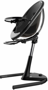 Mima Moon 2G High Chair - Black / Black