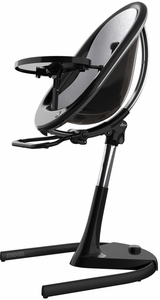 Mima Moon 2G High Chair - Black / Silver
