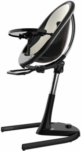 Mima Moon 2G High Chair - Black / White