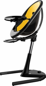 Mima Moon 2G High Chair - Black / Yellow