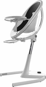 Mima Moon 2G High Chair - White / Black