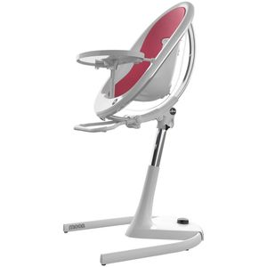 Mima Moon 2G High Chair - White/Fuschia