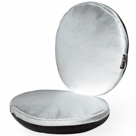 Mima Moon Junior Chair Cushion Set - Silver