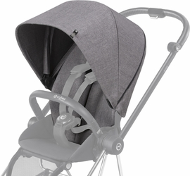 Cybex Mios Plus Color Pack/Comfort Inlay - Manhattan Grey