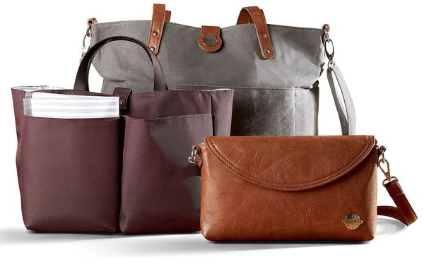 Momkindness CarryAll Tote Trio - Grey
