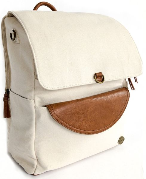 Momkindness Duo Backpack - Stone