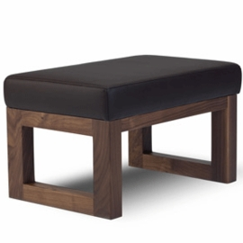 Monte Design Joya Ottoman in Brown