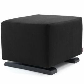 Monte Design Vola Ottoman in Black Enviroleather