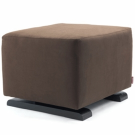 Monte Design Vola Ottoman in Brown Enviroleather