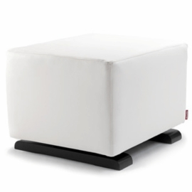 Monte Design Vola Ottoman in White Enviroleather