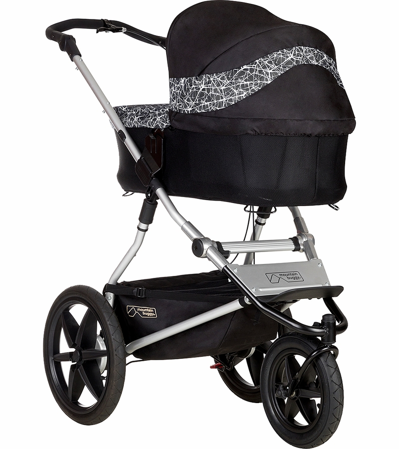 Mountain Buggy Carrycot Plus For Urban Jungle Terrain Plus One Strollers Graphite