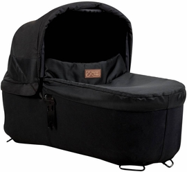 Mountain Buggy Carrycot Plus for Urban Jungle, Terrain & Plus One Strollers - Onyx