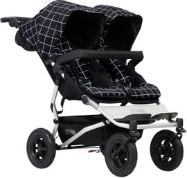 Mountain Buggy Duet 3.0 Double Stroller - Grid