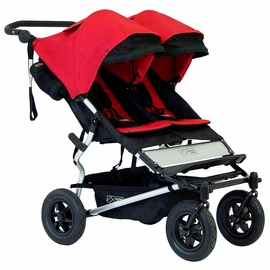 Mountain Buggy Duet Double Stroller - Chilli