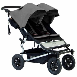 Mountain Buggy Duet Double Stroller - Flint
