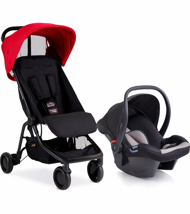 Mountain Buggy Nano Protect Travel System Ruby