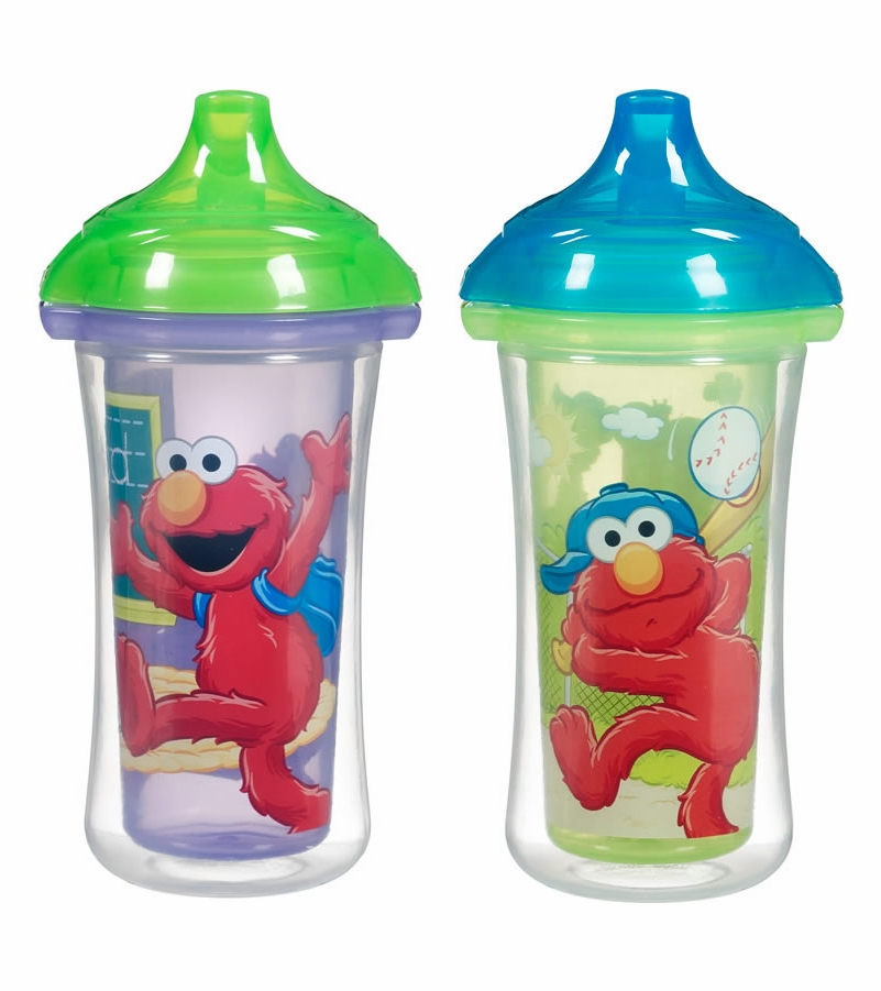Munchkin Click Lock 9oz Insulated Sippy Cups 2pk Sesame