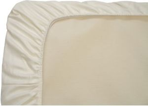 Naturepedic Organic Cotton Fitted Cradle Sheet - Ivory