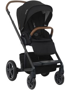 Nuna MIXX Stroller + Ring Adapter - Caviar