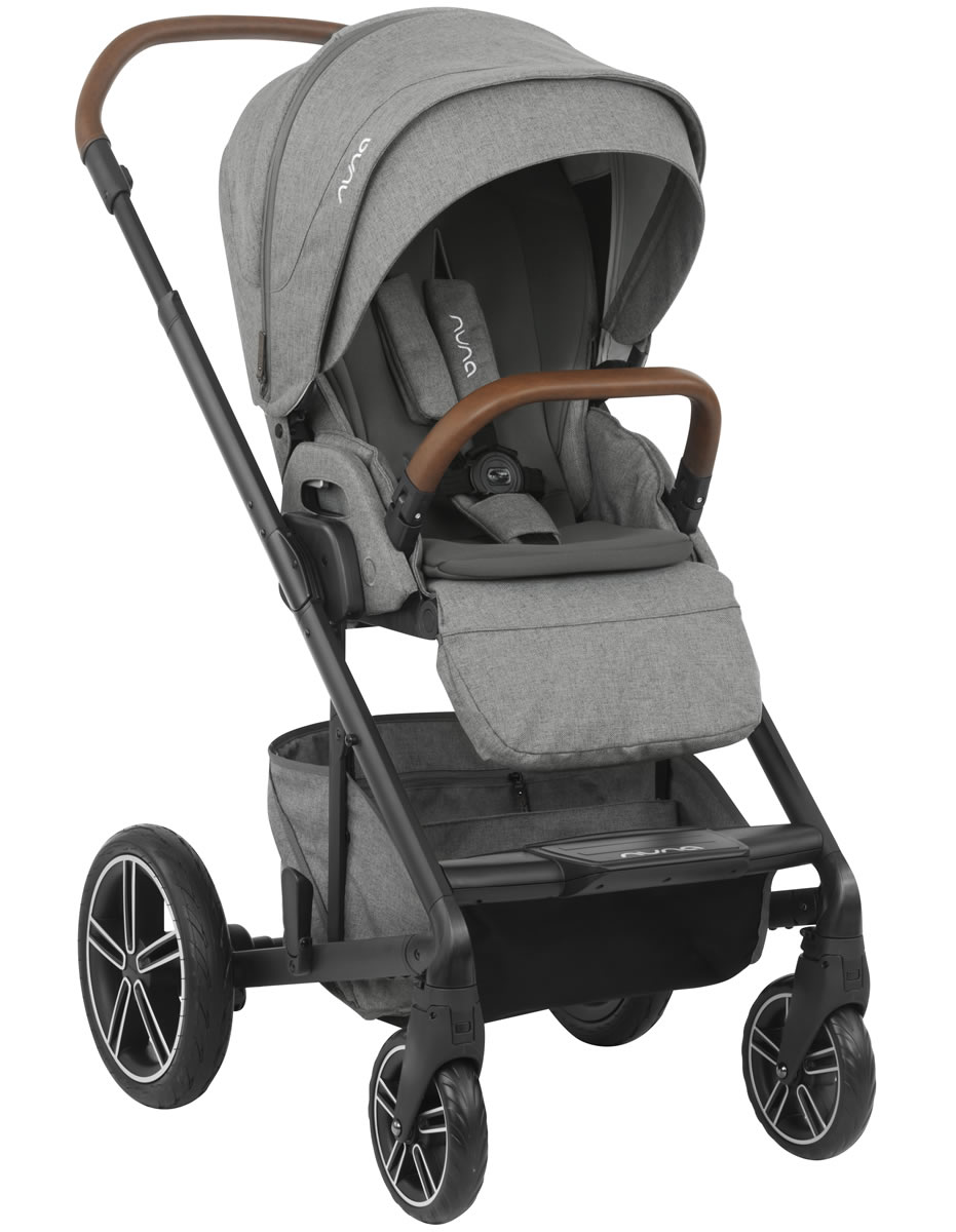 Nuna MIXX Stroller + Ring Adapter - Granite