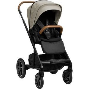 Nuna MIXX Next Stroller with Magnetic Buckle - Timber