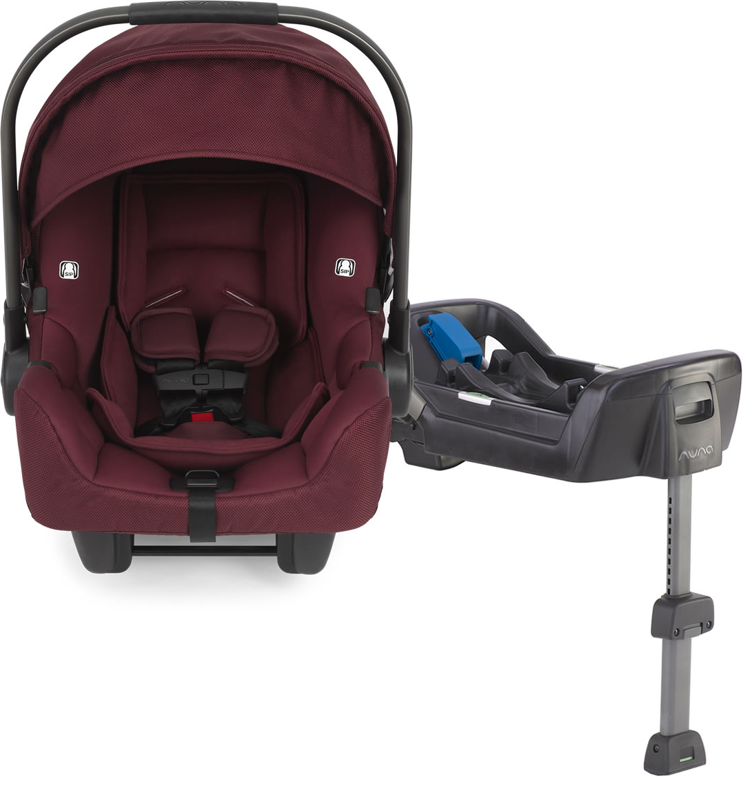 98f77da6f Nuna 2018 Pipa Infant Car Seat - Berry