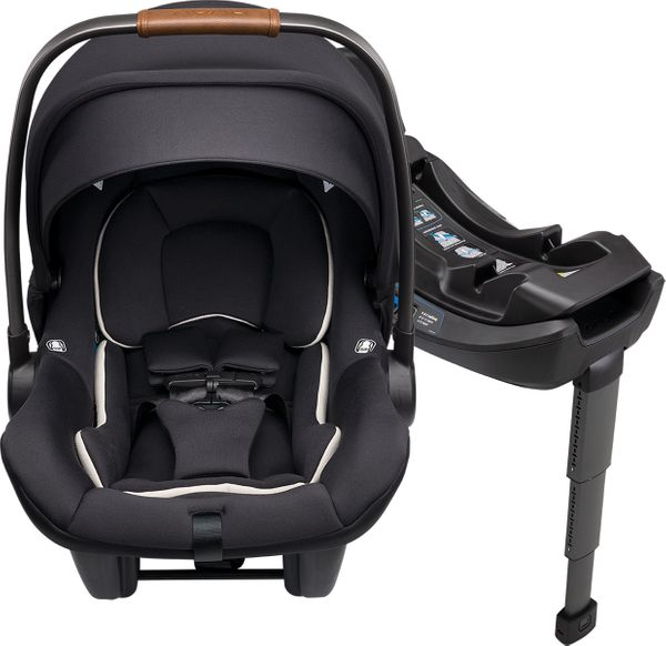 Nuna PIPA Lite R Infant Car Seat + RELX Base - Caviar