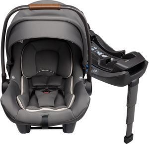 Nuna PIPA Lite R Infant Car Seat + RELX Base - Granite