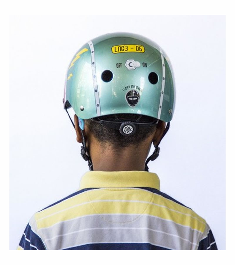 Nutcase Little Nutty Tin Robot G3 Helmet