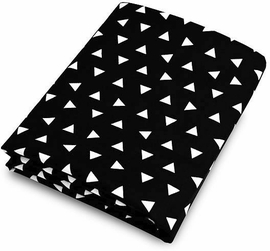 Olli + Lime Crib Sheet - Triangle