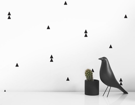 Olli + Lime Wall Decals - Triangle